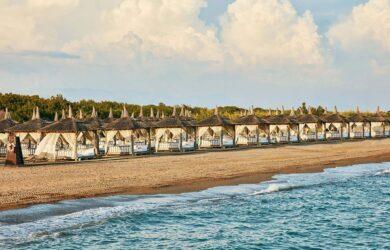Gloria Golf Resort Beach