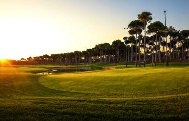 Carya Golf Course sunset