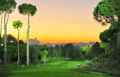 Carya Golf Course floodlight golf