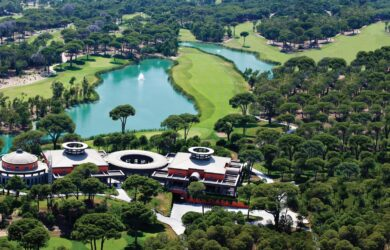 Cornelia Faldo Golf Course Aerial