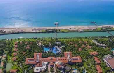 Gloria Golf Resort Aerial View