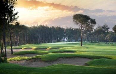 Montgomerie Golf Course Hole 7