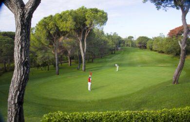Nationell golfbana