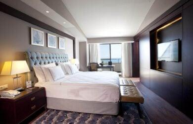 Kaya Palazzo Suite Sea View Bedroom