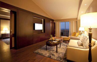 Kaya Palazzo Suite Sea View Living Room