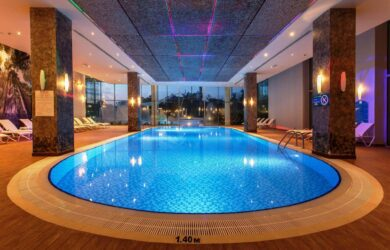 Zeynep Golf Hotel Indoor Pool