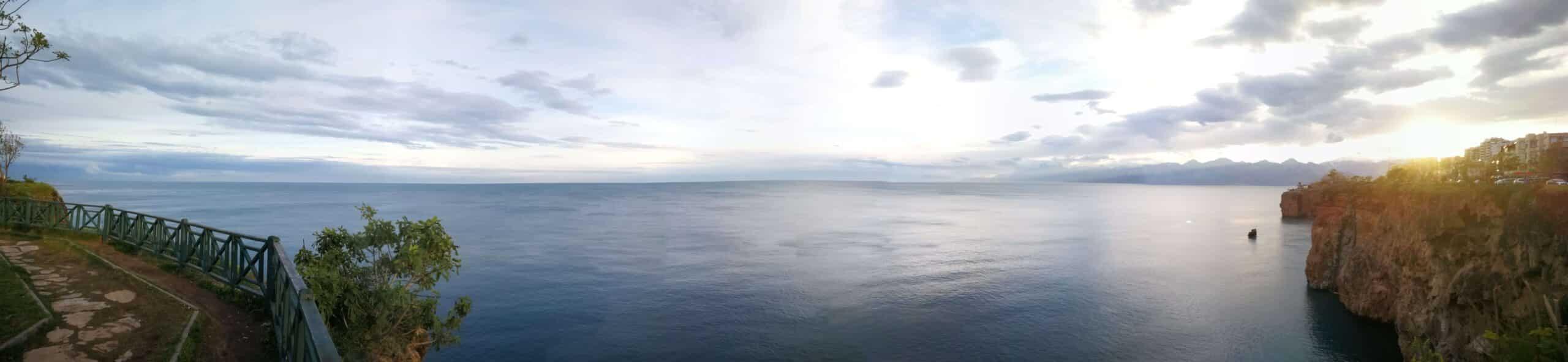 Cliffs of Antalya